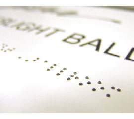 Braille with Raster Bead