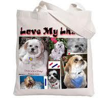 love my dog tote