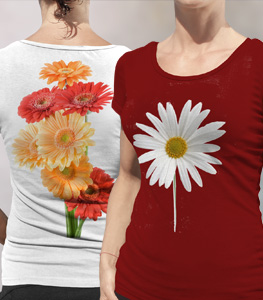 Full color personalized shirts for Custom full color t shirt printing