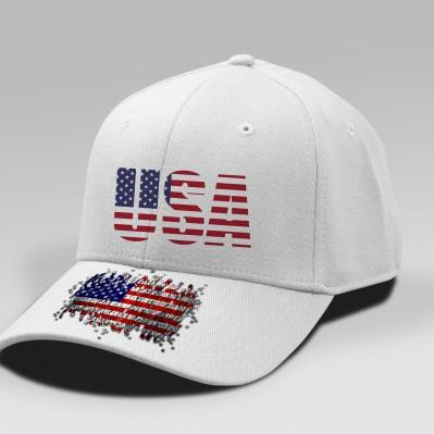 Customized Patriotic Caps. Make Your Cap Unique!