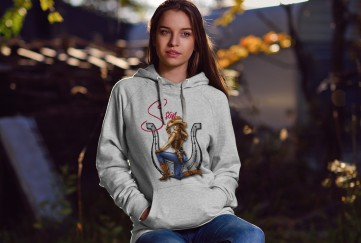 Design Your Own Hoodie Right On-Line. Choice of Color and Sizes
