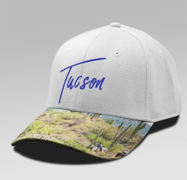 We Print and Thermally Apply Full Color Decoration to Caps